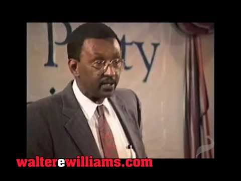 Video: Walter Williams: Income redistribution is the biggest moral failure in our country