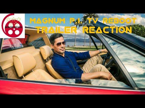 Magnum P.I. Official Trailer Reaction (CBS TV Reboot)