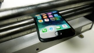 Video What Happens If You Squash iPhone 7 in a Metal Roller? MP3, 3GP, MP4, WEBM, AVI, FLV Mei 2017