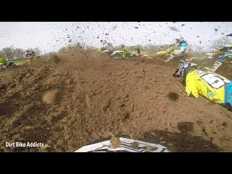 cody williams - Unfortunately Cody goes down in the start however that just means we get a sick video of him working through the field! This is at the Lincoln Trail Motospor...