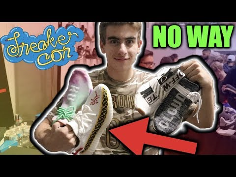 NEVER BEFORE SEEN SNEAKERS AT SNEAKERCON...WOW.