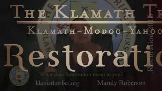 Restoration 2016 - What Does Restoration Mean to You?-Mandy Roberson