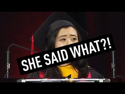 Chinese Student Blasted for Commencement Speech   China Uncensored