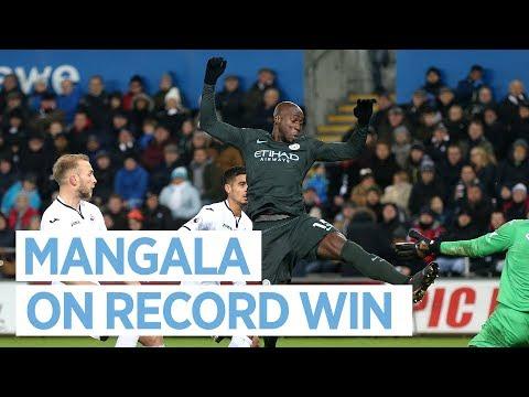 Video: IT KEEPS GETTING BETTER! | MANGALA POST MATCH | City 4 - 0 Swansea City | Premier League 2017-18