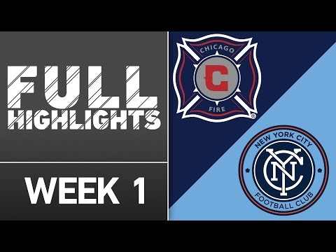 MLS Highlights: Chicago Fire vs. New York City FC | March 6, 2016