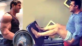 All Bollywood Celebs Gym Bodybuilding Workout Videos - Salman Khan,John Abraham,Deepika,Shahid,Alia
