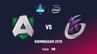 Alliance vs Keen Gaming, ESL One Birmingham, bo2, game 1 [Lex & 4ce]
