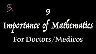 Here are the 9 points to explain the importance of Maths in Medical field.Answer for the questions like  - Is Mathematics Important for Doctors/Medico ? To Become a doctor is mathematics really necessary ?