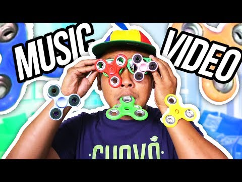 I Love Fidget Spinners (Official Music Video)