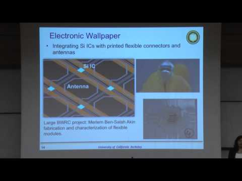 Printed Flexible Electronics – Ana Arias – Technion lecture