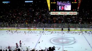 Cincinnati Cyclones 14-15 Teddy Bear Toss Goal