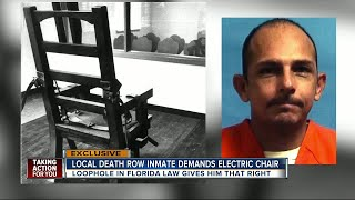 Video First death row inmate requests electric chair MP3, 3GP, MP4, WEBM, AVI, FLV April 2019