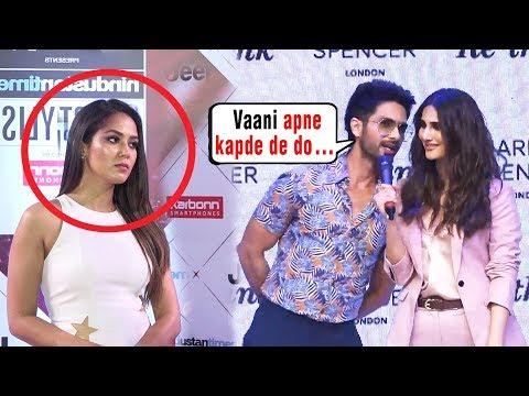 Shahid Kapoor Wants To Take Vaani Kapoor CLOTHES | Mira Rajput gets JEALOUS Of Vaani Kapoor