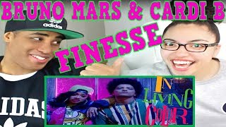 image of Bruno Mars - Finesse (Remix) [Feat. Cardi B] [Official Video] REACTION