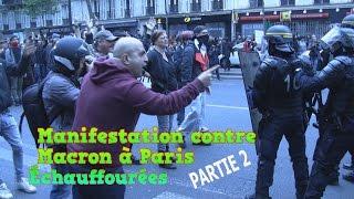 Video Manifestation contre Macron dégénère à Paris - Partie 2 MP3, 3GP, MP4, WEBM, AVI, FLV Juni 2017
