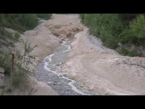 Debris Flows Are Powerful