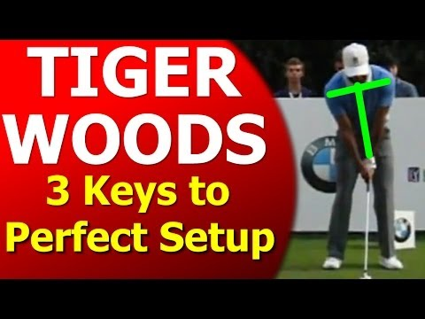 Tiger Woods Golf Swing: 3 Keys to Perfect Setup (Golf's #1 Lag Instructor)