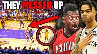 Video The REAL Reason Why The Lakers Should Have KEPT D'Angelo Russell & Julius Randle (Ft. NBA Mistakes) MP3, 3GP, MP4, WEBM, AVI, FLV Maret 2019