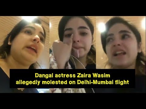 Video Dangal Actress Zaira Wasim Allegedly Molested On Delhi - Mumbai Flight | Vistara Airline download in MP3, 3GP, MP4, WEBM, AVI, FLV January 2017