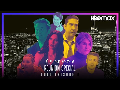 FRIENDS Reunion Special (2021) FULL EPISODE 1   HBO MAX