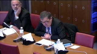Projet de loi travail : audition des syndicats, mon intervention en commission