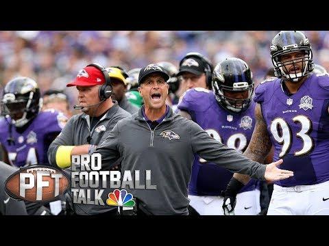 Video: John Harbaugh should treat himself like a FA | Pro Football Talk | NBC Sports