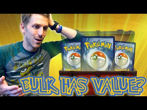 Treasure Hunting Your Bulk Pokemon Cards Episode 1! Uncommon Cards That Can Make You Money!!!