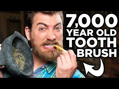Testing Ancient Toothpaste