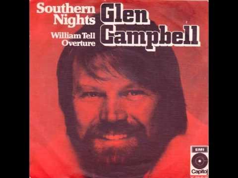 Glen Campbell - Southern Nights (видео)
