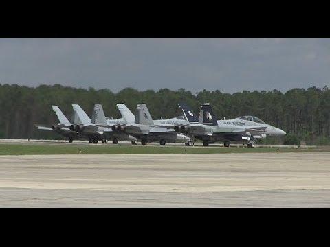 Marine Corps F/A-18 Hornet Aircraft Maintenance at MCAS Beaufort, South Carolina!