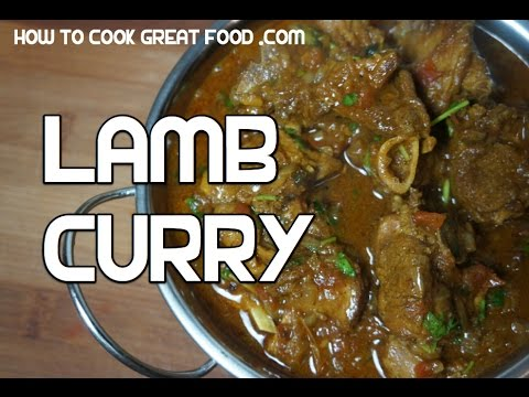 Lamb Curry Recipe  – Mutton Indian Masala Slow cooked tender
