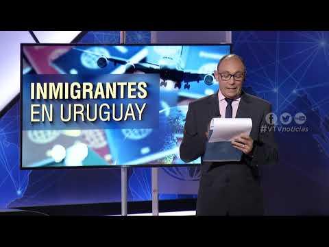INMIGRANTES QUE LLEGAN A URUGUAY