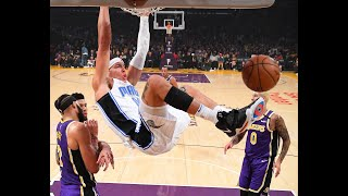 Aaron Gordon Puts On A Dunk Reel vs. Lakers