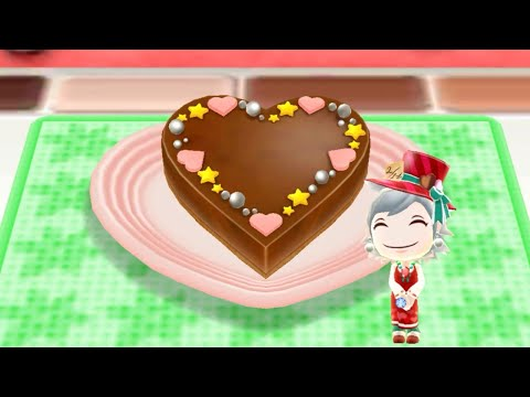 Cooking Heart Ganache - Android Gameplay - Cooking Mama Let's Cook #61 - No Commentary