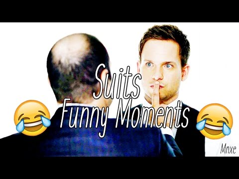 """""""Not bad for a guy your age."""" ► Suits (HUMOUR)"""