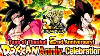 Global 2nd anniversary is NOW DragonBall Z Dokkan Battle