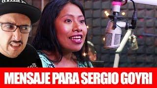 MENSAJE DE YALITZA APARICIO PARA SERGIO GOYRI