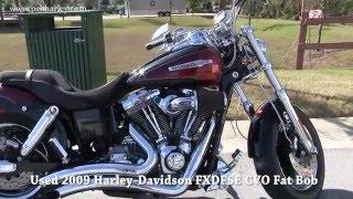 1. Used 2009 Harley Davidson FXDFSE CVO Fat Bob