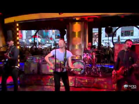 Coldplay-Charlie Brown (Live Good Morning America)