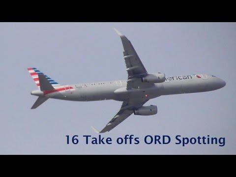 16 Take offs ORD Spotting