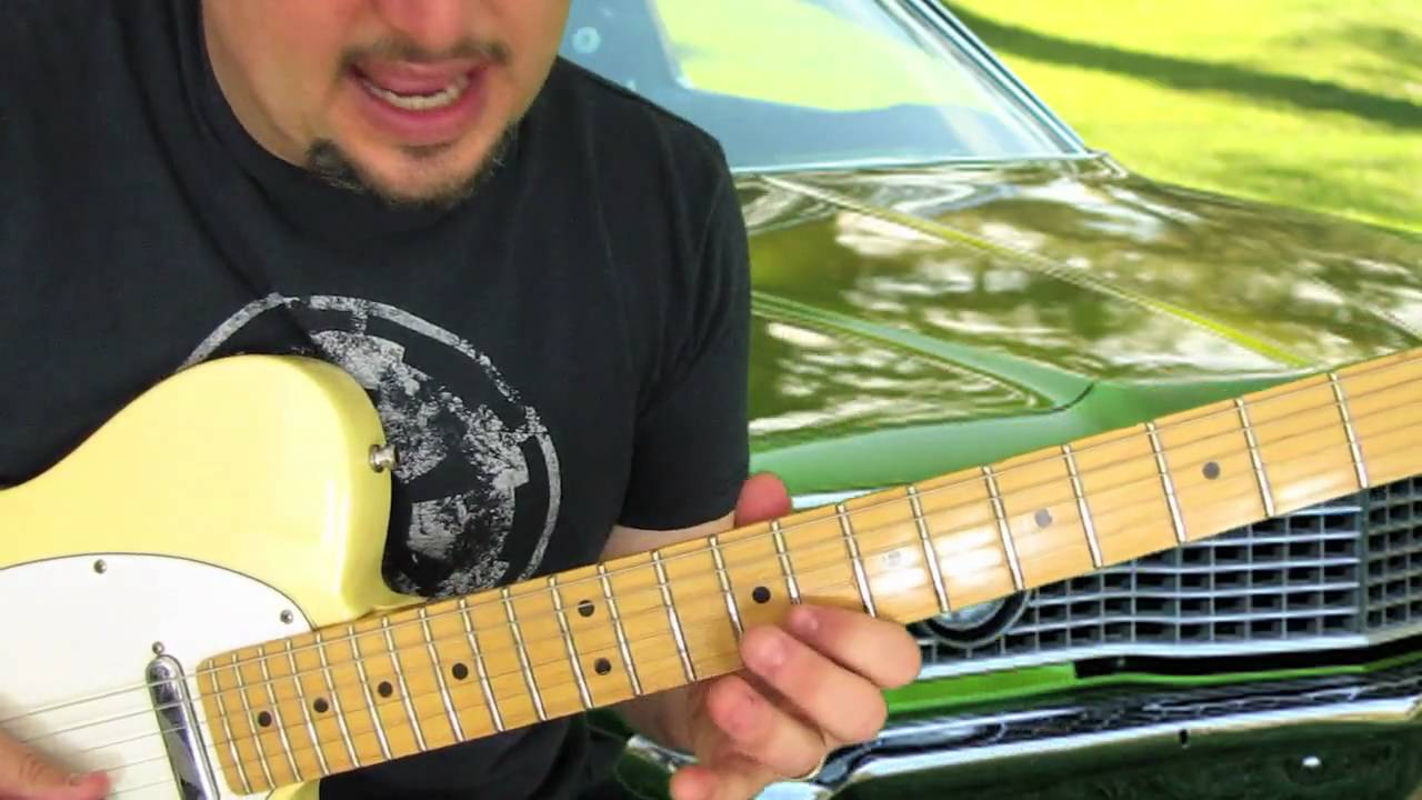 Blues Guitar Scales Lesson – blues lead guitar excersise – practice pattern