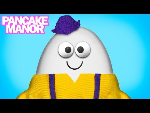 HUMPTY DUMPTY SAT ON A WALL ♫| Nursery Rhyme Song for Kids| Pancake Manor