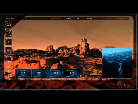 The Martian (2015) - Blu-ray menu