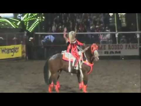 Trick Riding- Shelby Pierson and Emily Peebles, The Full Throttle Trick Riders