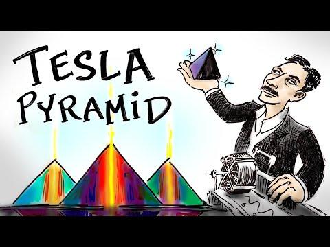 Nikola Tesla - Grenzeloze energie en de piramides van Egypte