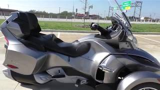 9. 001782   2012 Can Am Spyder RT SM5 - Used motorcycles for sale
