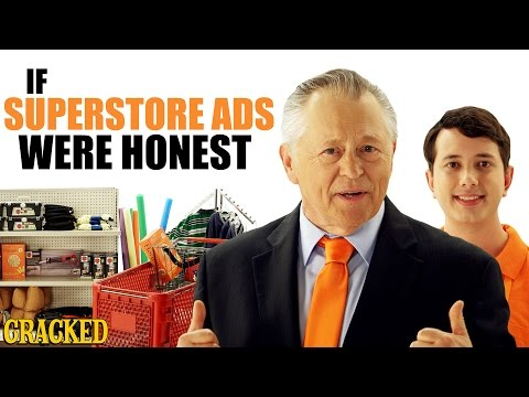If Superstore Ads Were Honest