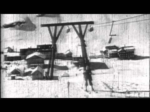 """Doppelmayr 2-SL """"Klein-Valluga-Lift"""" - erster Skilift in Zürs (1937)"""