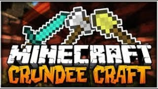Minecraft CRUNDEE CRAFT ep1 with the whole gang /Fortnite :D