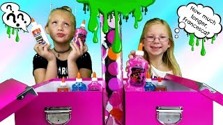 Video MYSTERY BOX OF SLIME TWIN TELEPATHY CHALLENGE!!! MP3, 3GP, MP4, WEBM, AVI, FLV Agustus 2018